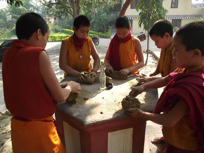 Making Tsa Tsas