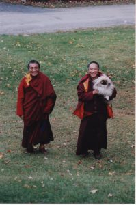 Khenpo Rinpoche and Khenchen Palden Sherab Rinpoche arrive in the U.S.