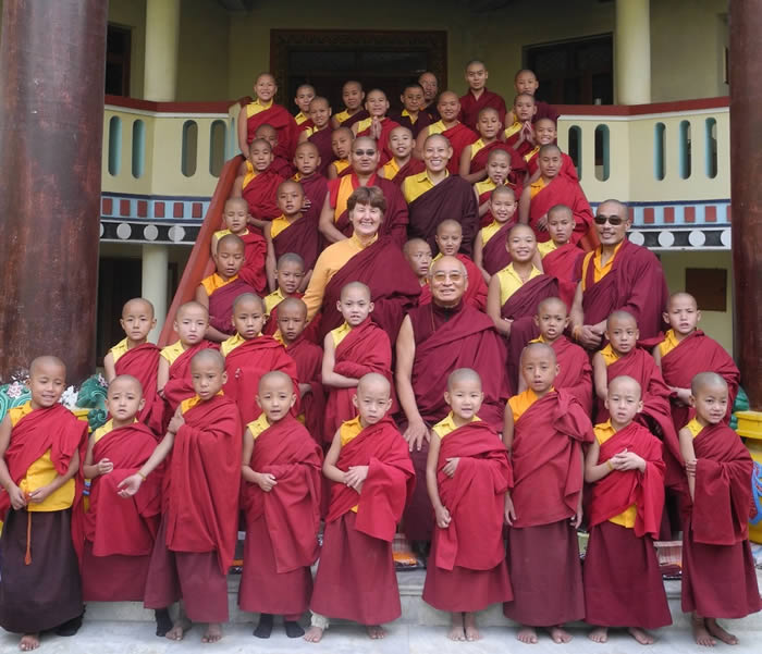 PBC Sarnath Monks and Nuns