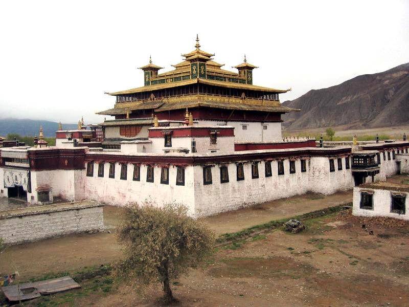 The main building of the Samye Monastery