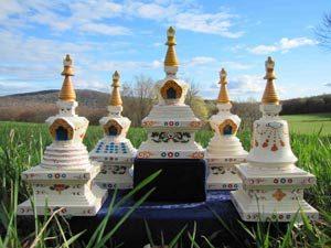 PSL Meadow Stupa Garden