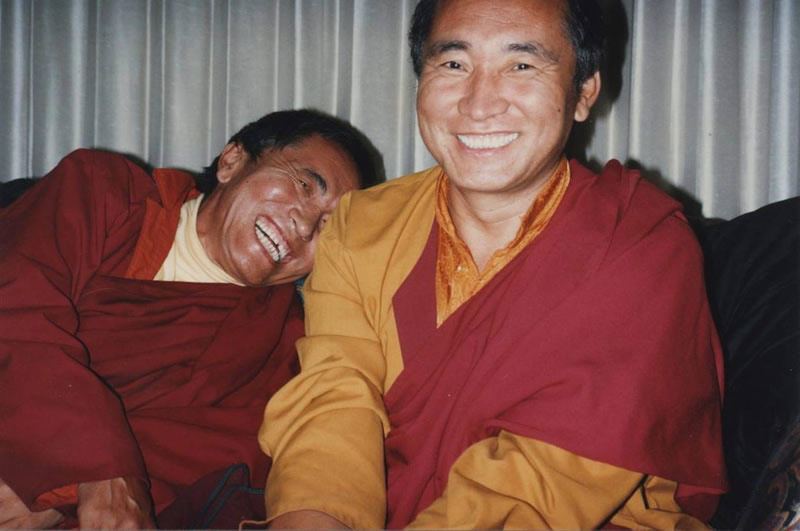 Ven. Khenpo Rinpoches Laughing