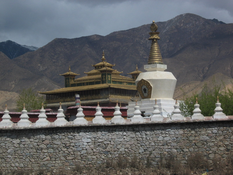 Protective wall around Samye Monastery
