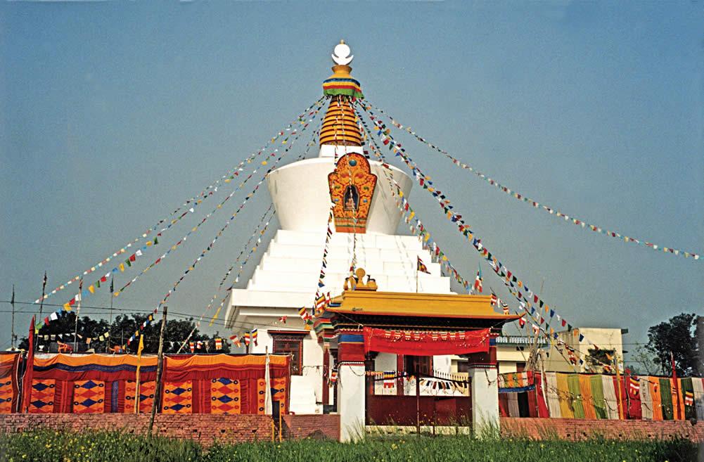 Padma Samye Jetavan, Miracle Stupa
