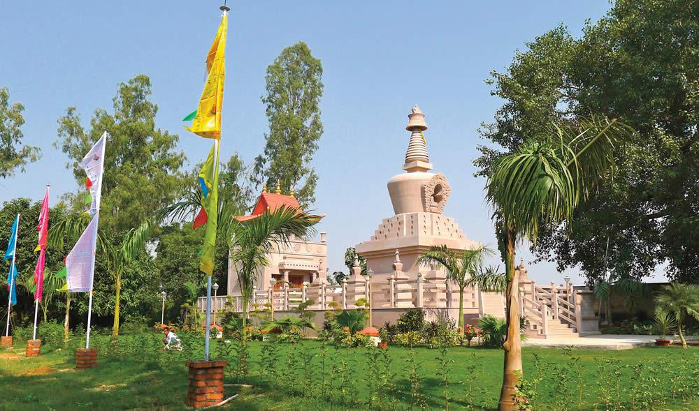 Khenchen Palden Sherab Rinpoche Relics Stupa