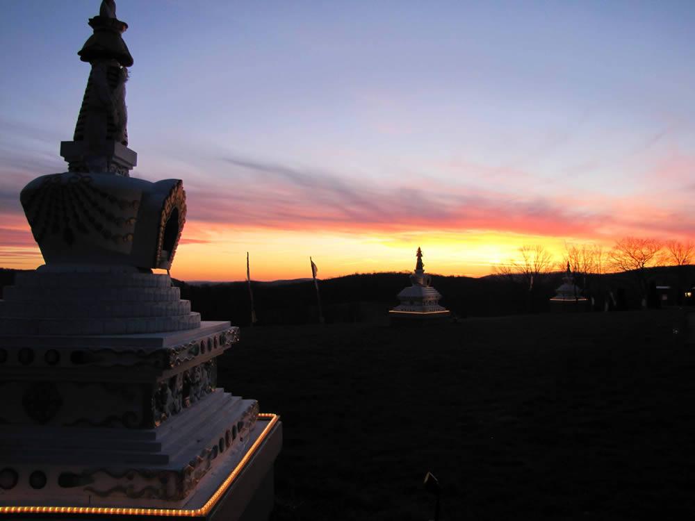 PSL Temple Stupa Garden