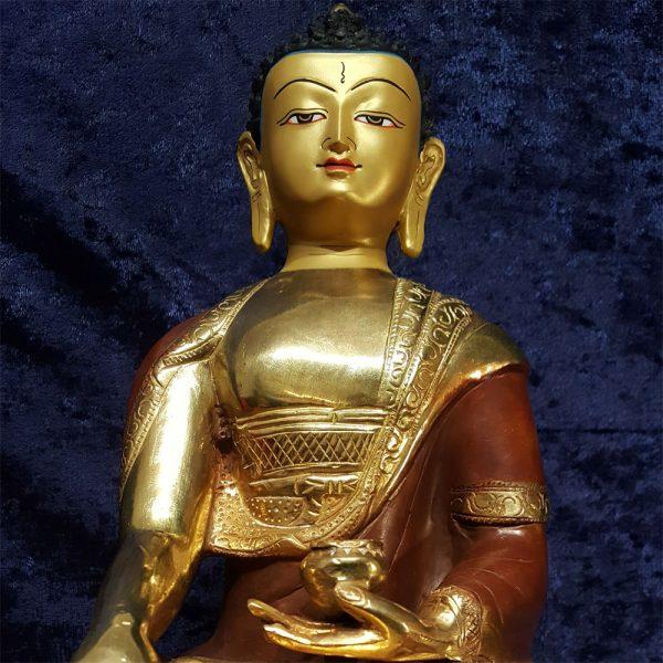 Buddha Shakyamuni Front Close