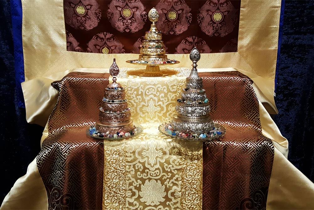 Mandala Offering Plates